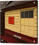 Waiting Acrylic Print by Gordon Wood