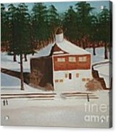 Walden Pond Acrylic Print by Janet C Stevens