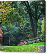 Walk In The Park Acrylic Print by Christina Rollo