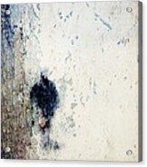 Walking In The Rain Acrylic Print by Carol Leigh