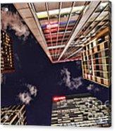 Wall Street Acrylic Print by Paul Ward