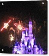 Walt Disney World Resort - Magic Kingdom - 121238 Acrylic Print by DC Photographer