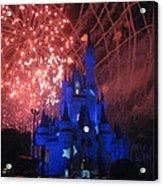 Walt Disney World Resort - Magic Kingdom - 121271 Acrylic Print by DC Photographer
