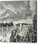 War 1910 Acrylic Print by Max Klinger