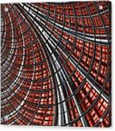 Warp Core Acrylic Print by John Edwards
