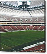 Warsaw Stadion Acrylic Print by Pati Photography