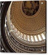 Washington Dc - Us Capitol - 011315 Acrylic Print by DC Photographer