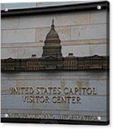 Washington Dc - Us Capitol - 01133 Acrylic Print by DC Photographer