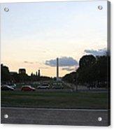 Washington Dc - Washington Monument - 01132 Acrylic Print by DC Photographer