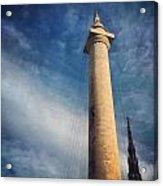 Washington Monument Acrylic Print by Toni Martsoukos