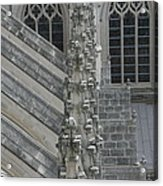 Washington National Cathedral - Washington Dc - 0113111 Acrylic Print by DC Photographer
