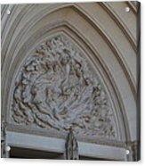 Washington National Cathedral - Washington Dc - 0113118 Acrylic Print by DC Photographer