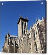 Washington National Cathedral - Washington Dc - 0113126 Acrylic Print by DC Photographer