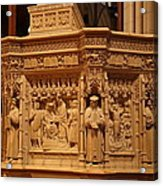 Washington National Cathedral - Washington Dc - 011333 Acrylic Print by DC Photographer