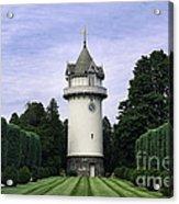 Water Tower Folly Acrylic Print by John Greim