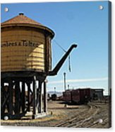 Water Tower Acrylic Print by Jeff Swan