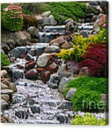 Waterfall Acrylic Print by Tom Prendergast