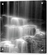 Waterfall Acrylic Print by Tony Cordoza