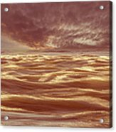 Waterscape Number Seven Acrylic Print by Bob Orsillo