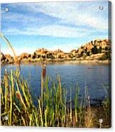 Watson Lake Arizona Acrylic Print by Kurt Van Wagner
