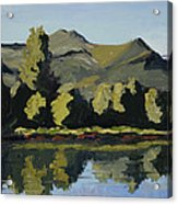 Watson Lake Acrylic Print by Mary Giacomini