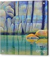 Watson Rocks Acrylic Print by Robert Hooper