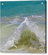 Wave 3 Acrylic Print by Cheryl Young