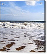 Waves Acrylic Print by Ramona Matei
