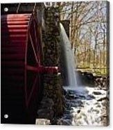 Wayside Grist Mill 2 Acrylic Print by Dennis Coates