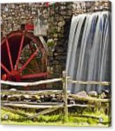 Wayside Grist Mill 4 Acrylic Print by Dennis Coates