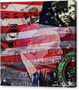 We Must Act Acrylic Print by Lynda Payton