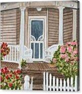 Welcome Acrylic Print by Regan J Smith