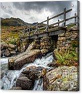 Welsh Bridge Acrylic Print by Adrian Evans