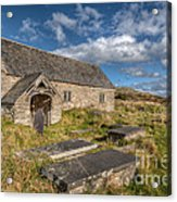 Welsh Church Acrylic Print by Adrian Evans