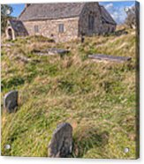 Welsh Tombs Acrylic Print by Adrian Evans