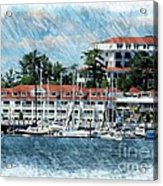 Wentworth By The Sea Acrylic Print by Marcia Lee Jones