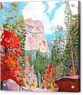West Fork - Sedona Acrylic Print by Steve Simon
