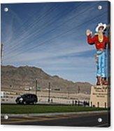 West Wendover Nevada Acrylic Print by Frank Romeo