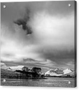 Wester Ross Winter  Acrylic Print by Derek Beattie