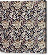 Wey Design Acrylic Print by William Morris