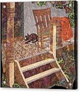 What A Time It Was Acrylic Print by Carol Bridges