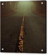 What Lies Ahead Acrylic Print by Karol Livote