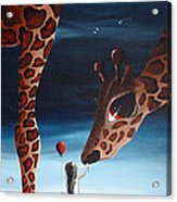 What Matters Most By Shawna Erback Acrylic Print by Shawna Erback