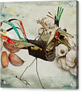 What Nature Delivers - Those Are Not My Eggs  Acrylic Print by Yvon van der Wijk
