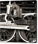 Wheels And Rods Acrylic Print by Olivier Le Queinec