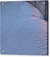 Where The Boardwalk Ends Acrylic Print by JC Findley