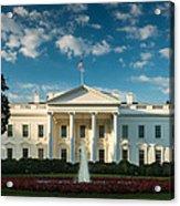 White House Sunrise Acrylic Print by Steve Gadomski