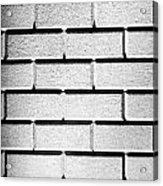 White Wall Acrylic Print by Semmick Photo