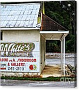 White's Furniture Acrylic Print by Mary Machare