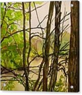 Whitewater Memorial State Park Acrylic Print by Katrina West